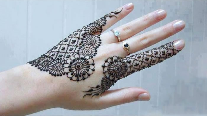 how to learn mehndi design at home