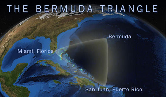 Supernatural Explanation of Bermuda Triangle Mystery