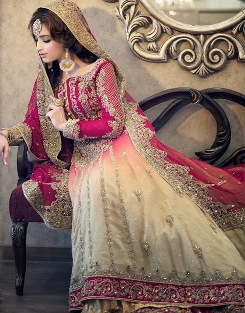 frock & lehnga for bridal