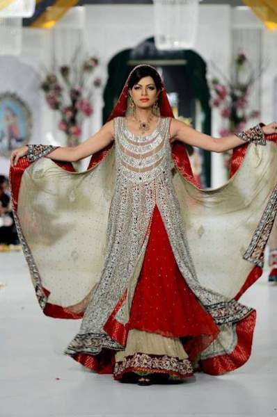 stylish bridal dress 2015