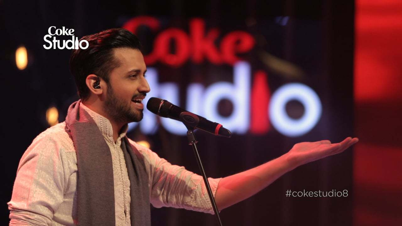 Atif Aslam, Tajdar-e-Haram, Coke Studio Season 8- video